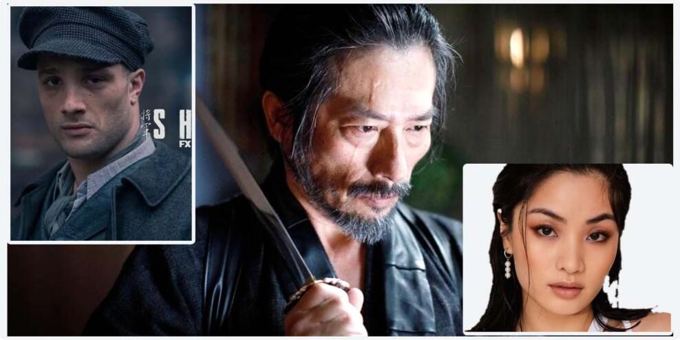The main cast of Shogun
